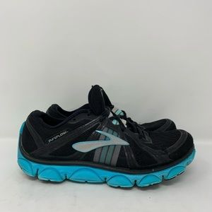 Brooks Black Powder Blue Pure Flow Running shoes